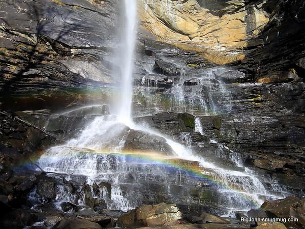 Rainbow at Rainbow falls