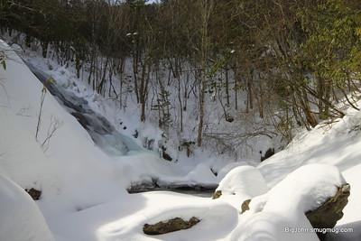 Upper Bubbling Branch falls?