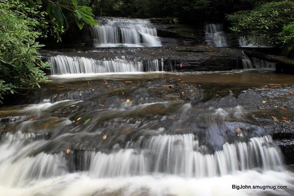 Upper upper Reedy Creek falls