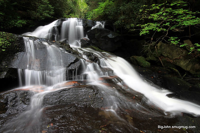 Upper upper upper Reedy Creek falls! Its a few miles up the creek from Twin Falls in S.C.