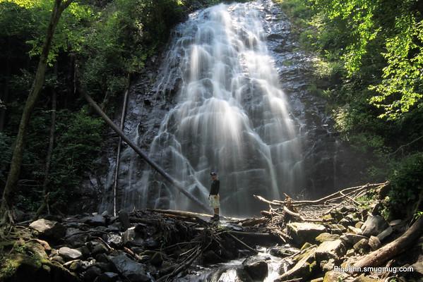 Man @ Crabtree Falls