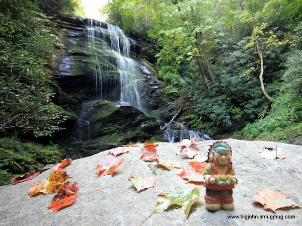 Chief likes Upper Catawba Falls