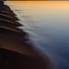 Sunset on Michigan's Lake Superior shoreline
