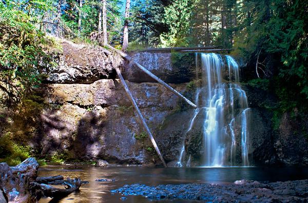 Upper North Falls, Silverton, Oregon