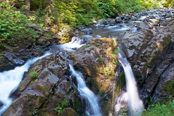 Sol Duc Falls Oympic Rain Forest