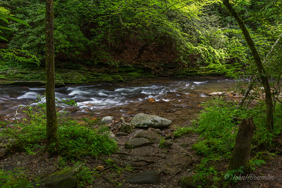 Rapids on Deep Creek, GSMNP, Swain County, NC