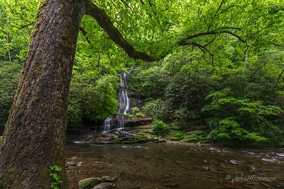 Toms Branch Falls & Deep Creek, GSMNP, Swain County, NC