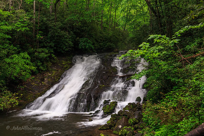 Indian Creek Falls - GSMNP, Swain County, NC