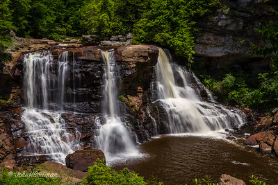 Blackwater Falls, from West
