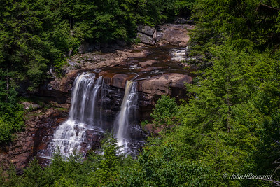 Blackwater Falls, from East