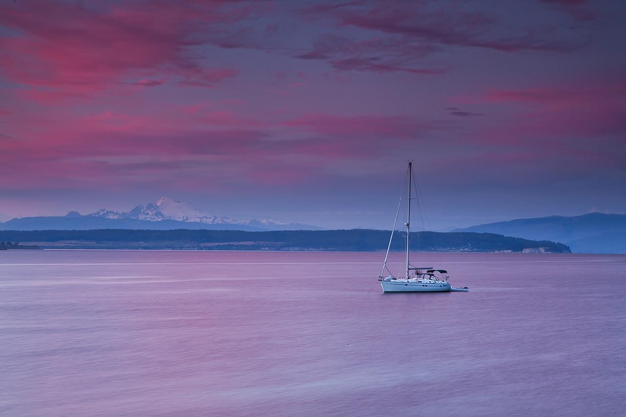Sailing On Pink