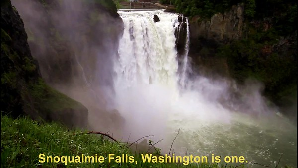 Waterfalls with Drones 2019 Chaminade soundtrack