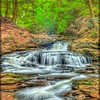 """Spring Flow"" at Ricketts Glen State Park in PA"