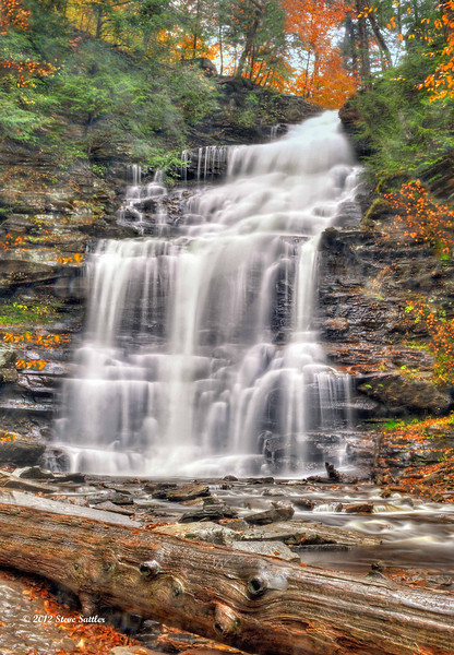 The R.B. Ricketts Falls - Ricketts Glen State Park - PA
