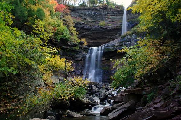 Diamond Notch and Kaaterskill Falls, NY