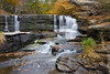 Buttermilk Falls in northeast Pennsylvania.