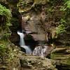 Adams Falls<br /> Rickett's Glen State Park, PA