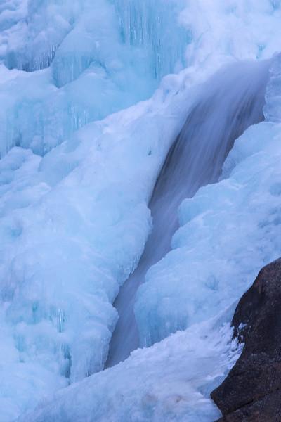 Frozen Shannon Falls