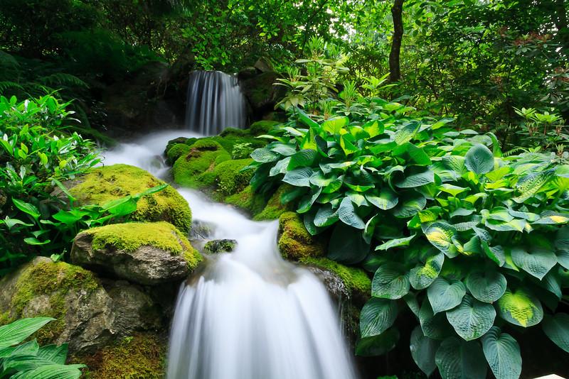 Minter Gardens Waterfall