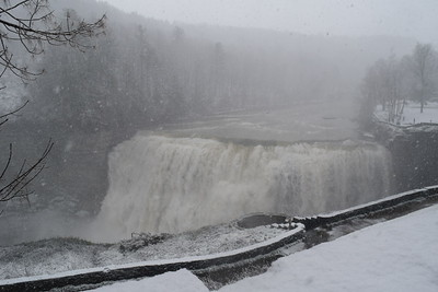 Blizzard at Letchworth Park