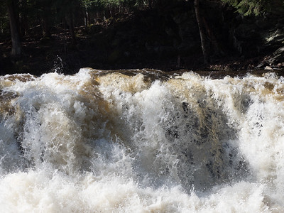 Powerhouse Falls on Falls River