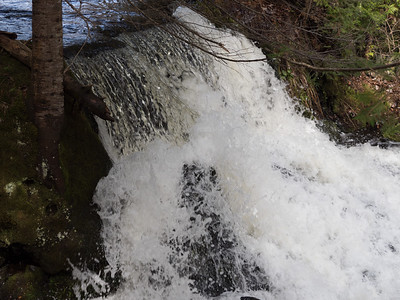 Ogemaw Falls on Ogemaw Creek