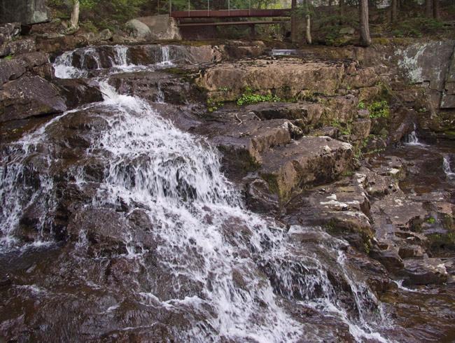 Otis Falls, one of my favorite waterfall in the Berkshires