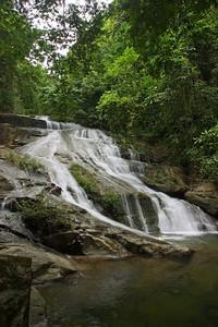 Lower Bocawina Falls at Mayflower Bocawina National Park.