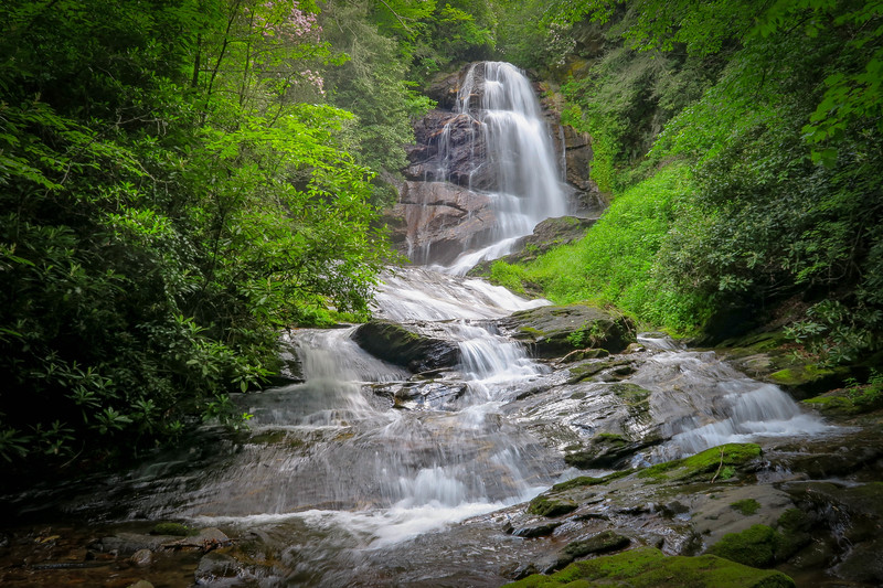 73. Upper Sol's Creek Falls, NC