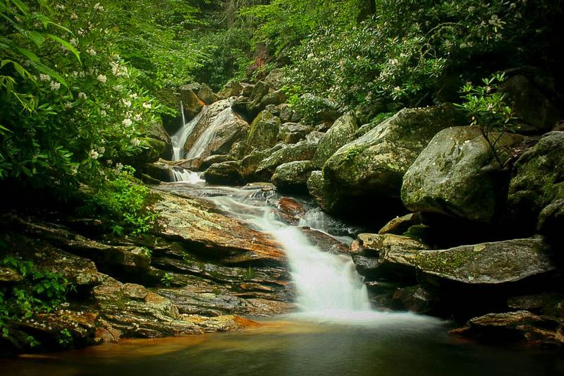 21. Skinny Dip Falls, NC