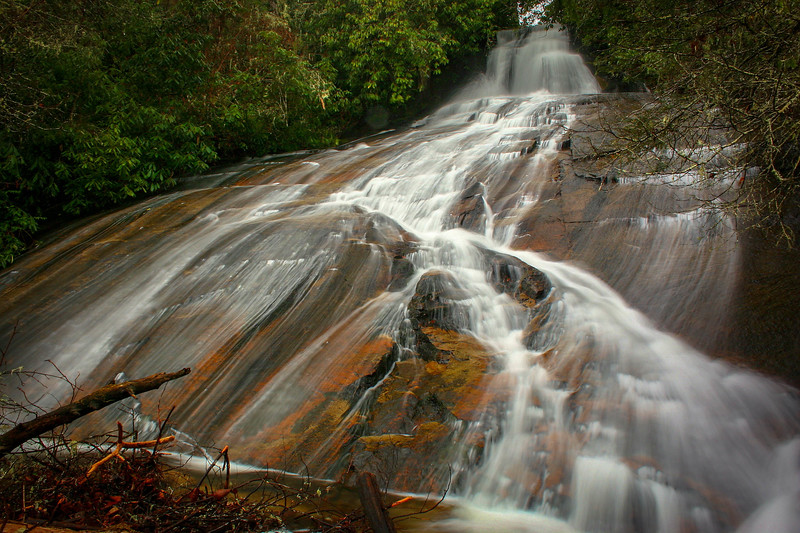 38. Long Branch Falls, NC