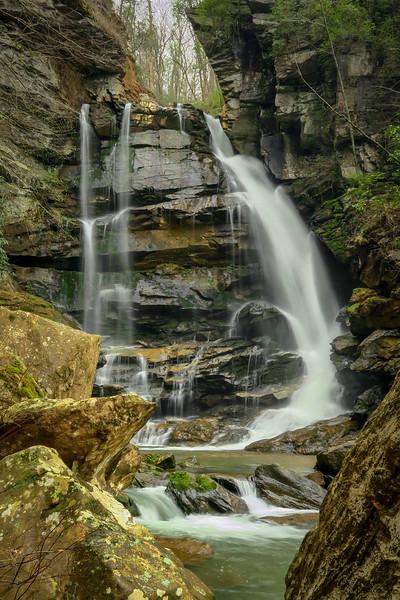 82. Big Bradley Falls, NC