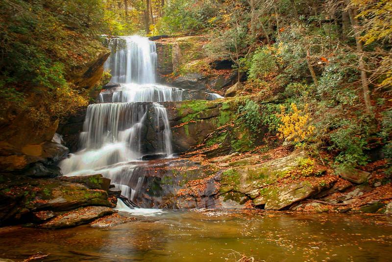 48. Little Bradley Falls, NC