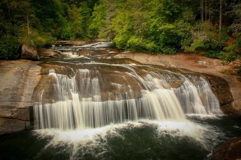 16. Turtleback Falls, NC