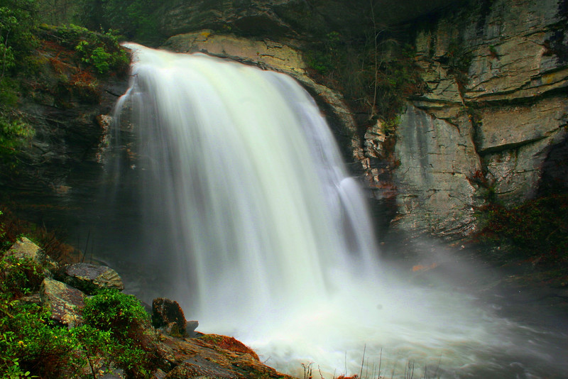 11. Looking Glass Falls, NC