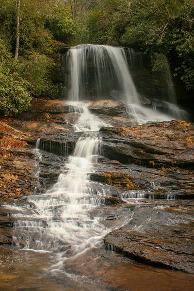 62. Scotsman Creek Falls, NC