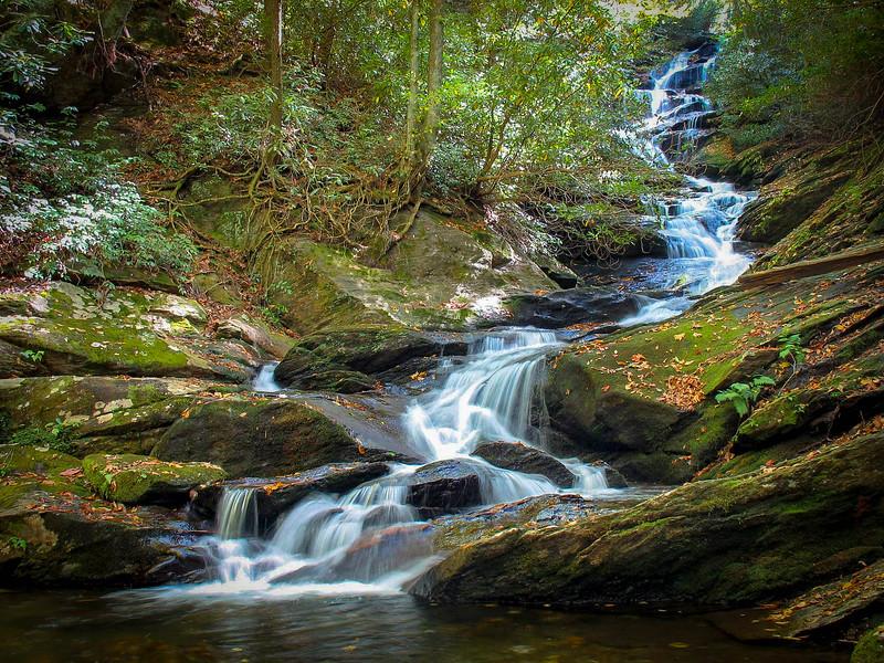 01. Roaring Fork Falls, NC
