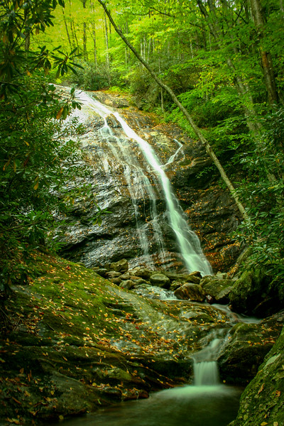 25. Wash Hollow Falls, NC