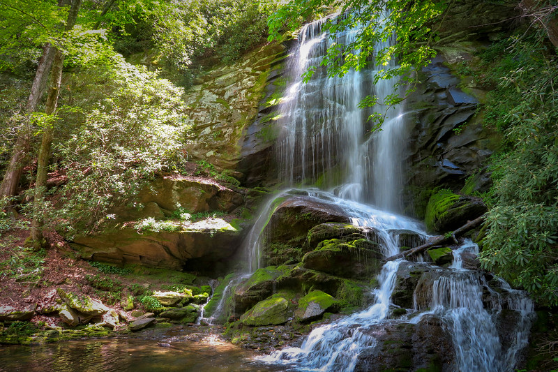 70b. Upper Catawba Falls, NC