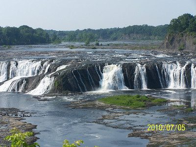 Cohoes Falls - Mohawk River Cohoes, NY
