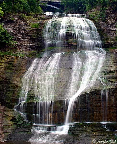 She-qua-ga Falls <br> Montour Falls, NY