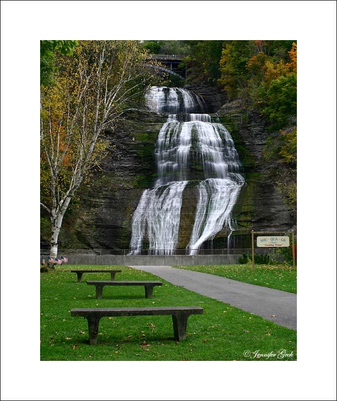 She-qua-ga Falls<br><br> Montour Falls, NY