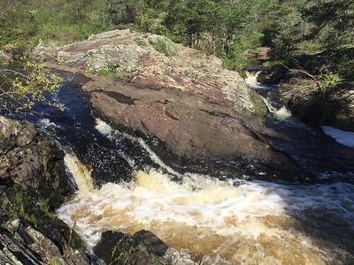 Gile Flowage Falls