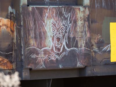 Train Car Grafiti