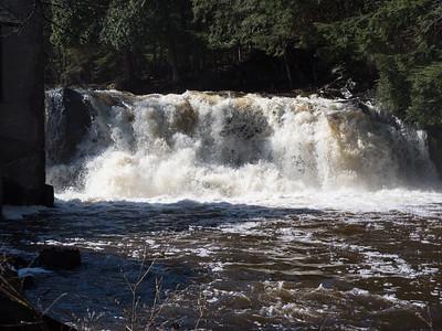 Powerhouse Falls on Falls River