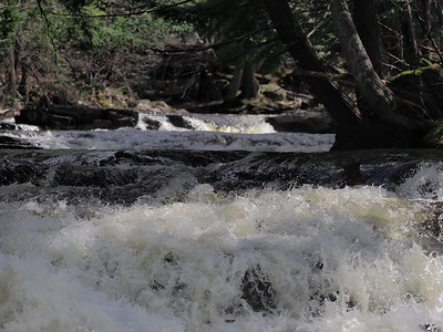 Black Slate Falls on  Slate River