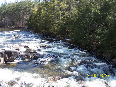 Hulls Falls - EB Ausable River    Keene, NY