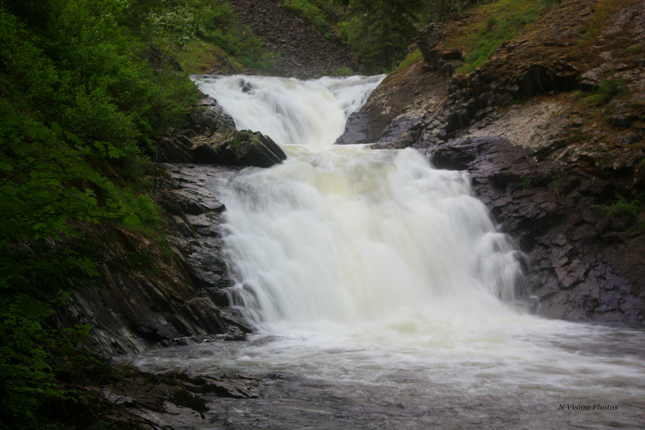 Upper Elk Creek Falls