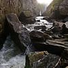 A fair bit from the waterfall