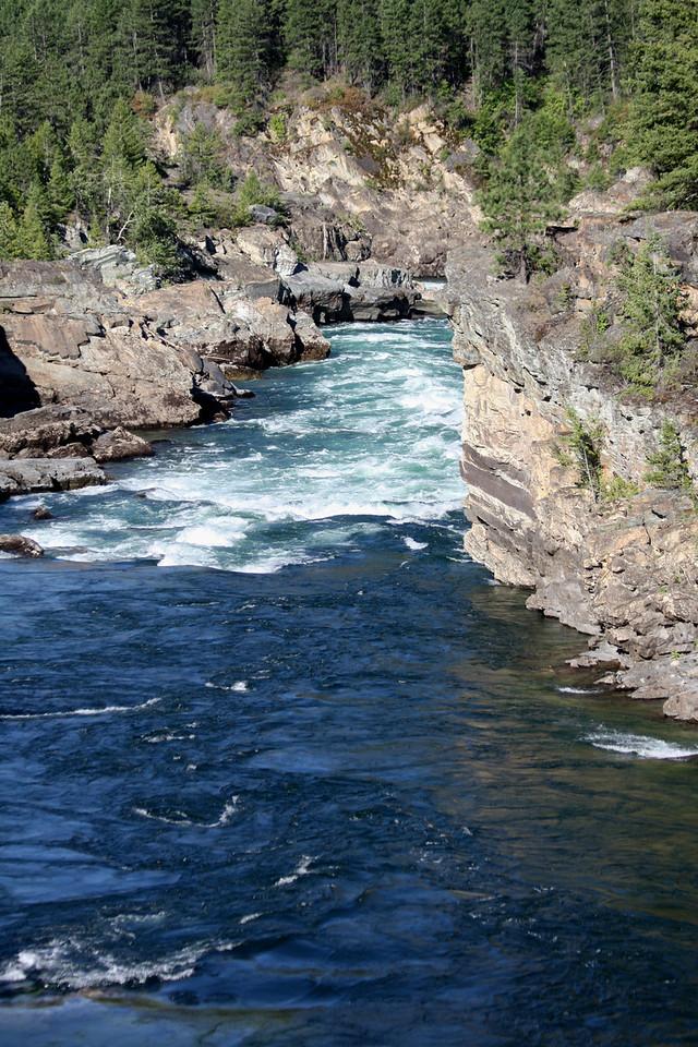 Kootenai River just below Kootenai Falls